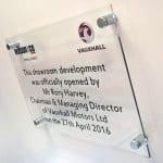 acrylic plaque