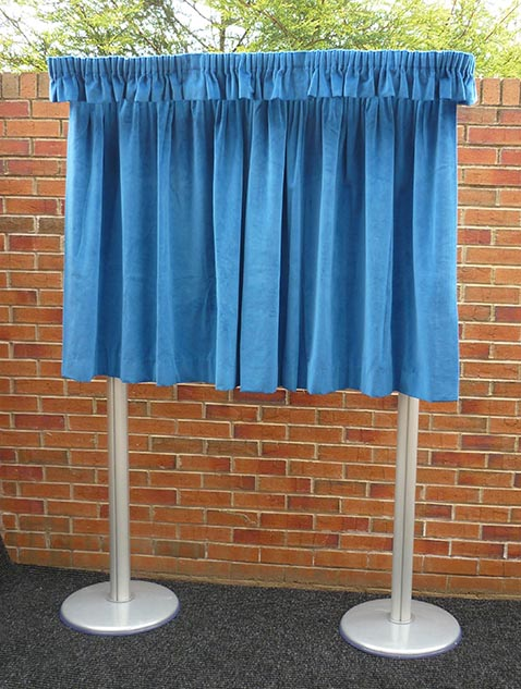 Freestanding Unveiling Curtains