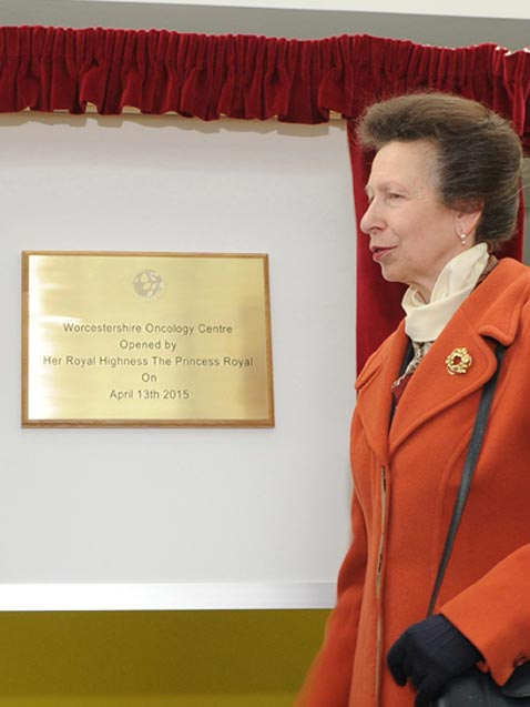 Royal Plaque Unveiling