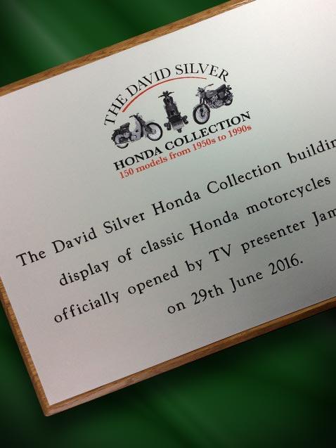 Silver Plaque