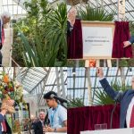 Sir David Attenborough Unveiling Curtain Event