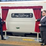 Rennie Mackintosh Train Unveiling