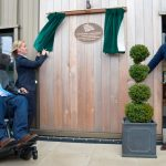 Mike Tindall at London Unveiling Curtain Event