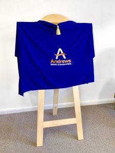 Branded Unveiling Curtain