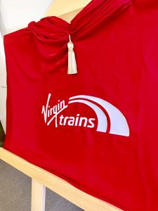 Business Branding on Unveiling Curtains