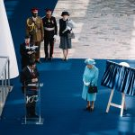 Her Majesty The Queen Elisabeth II at Royal Plaque Unveiling for British Airways