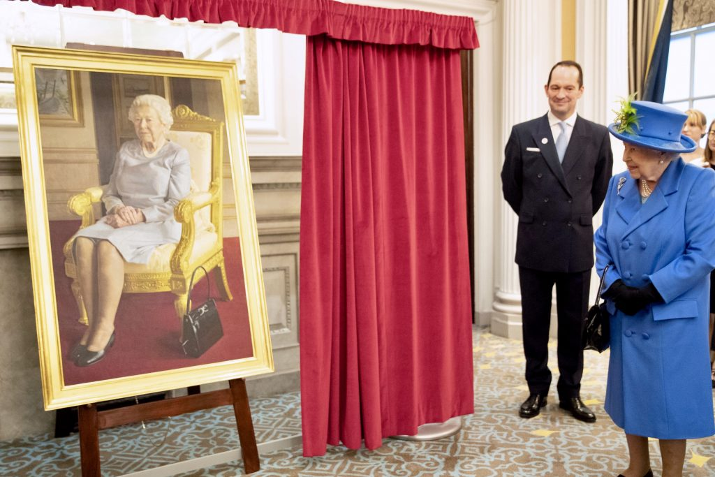 Queen Portrait Unveiling